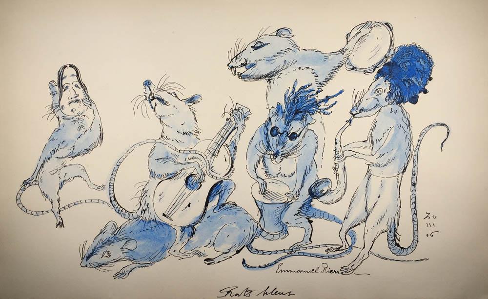 Emmanuel Pierre - rats-bleus