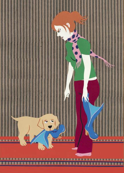 Anna Sommer - chien