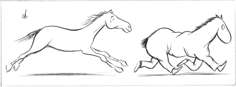 Bosc - chevaux