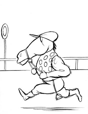 Bosc - jockey