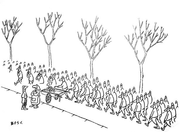 Bosc - marchande-pommes