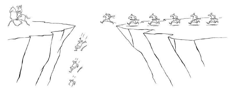 Bosc - saut