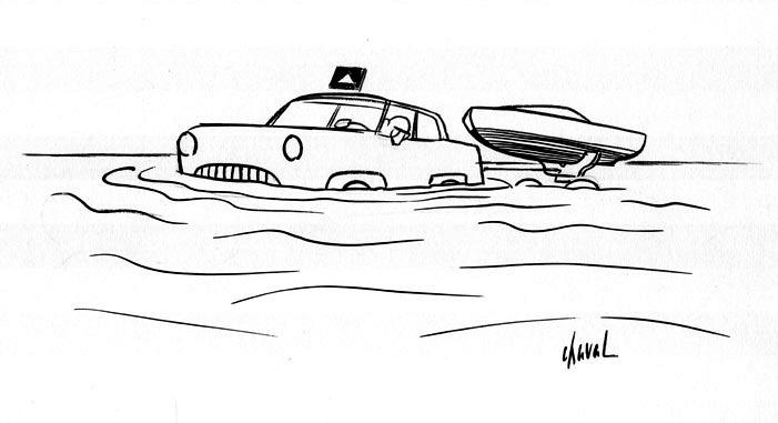 Bosc - voiture-aquatique