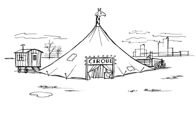 Chaval - cirque