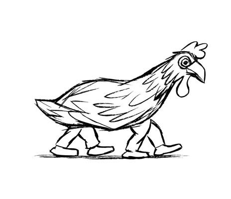 Chaval - poule-pattes
