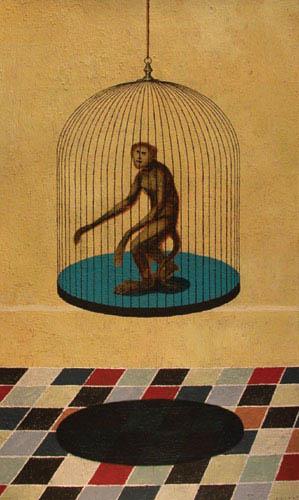 Chloé Poizat - singe-cage-gd