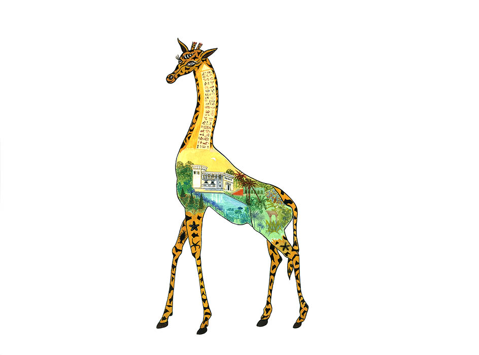 Dominique Zehrfuss - 24-GIRAFE
