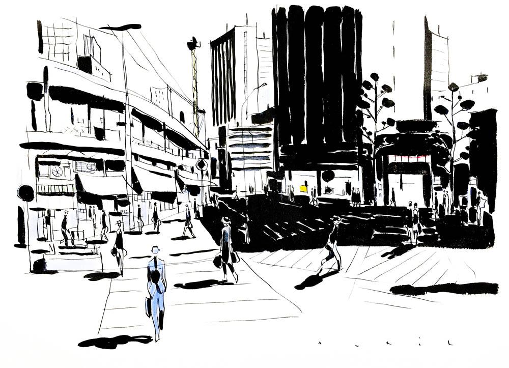 François Avril - Tokyo-passage