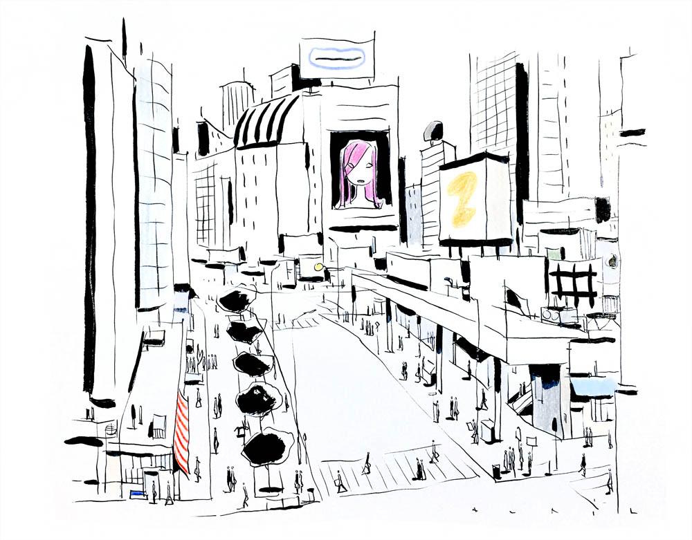 François Avril - Tokyo-rues