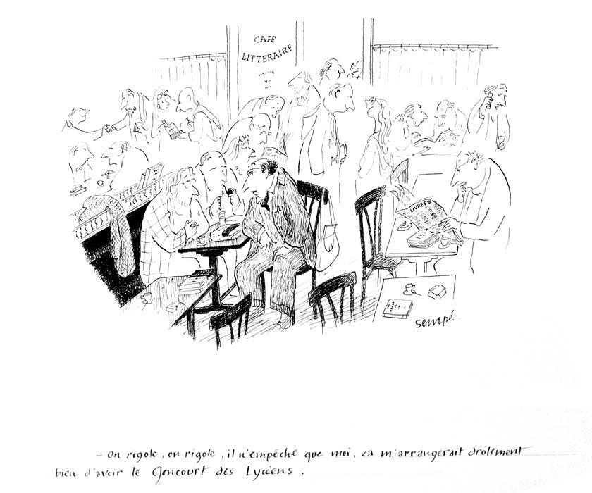 Jean Jacques Sempé - Goncourt-Lyceen