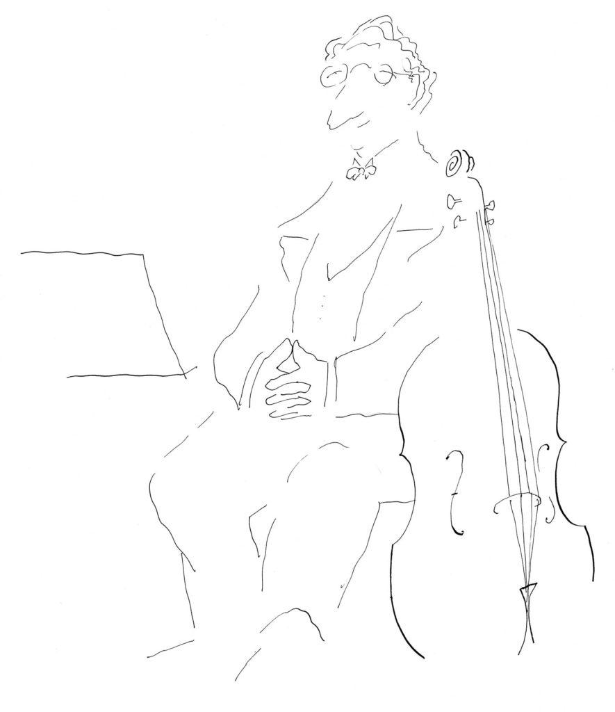 Jean Jacques Sempé - Le-violoncelle
