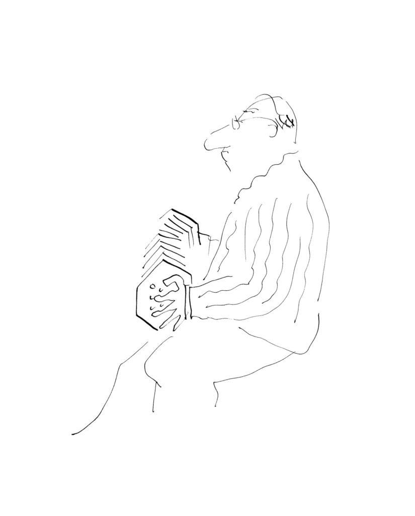 Jean Jacques Sempé - Les-Musiciens-Concertina