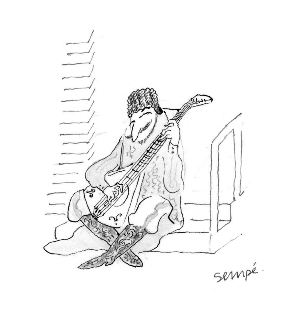 Jean Jacques Sempé - Musique-russe