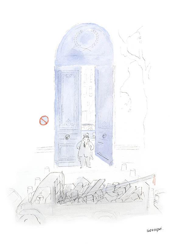 Jean Jacques Sempé - Porte-Bleue