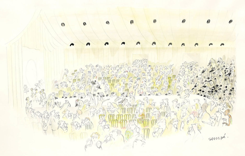Jean Jacques Sempé - The New Yorker, Mar. 15, 1993, pages intérieures