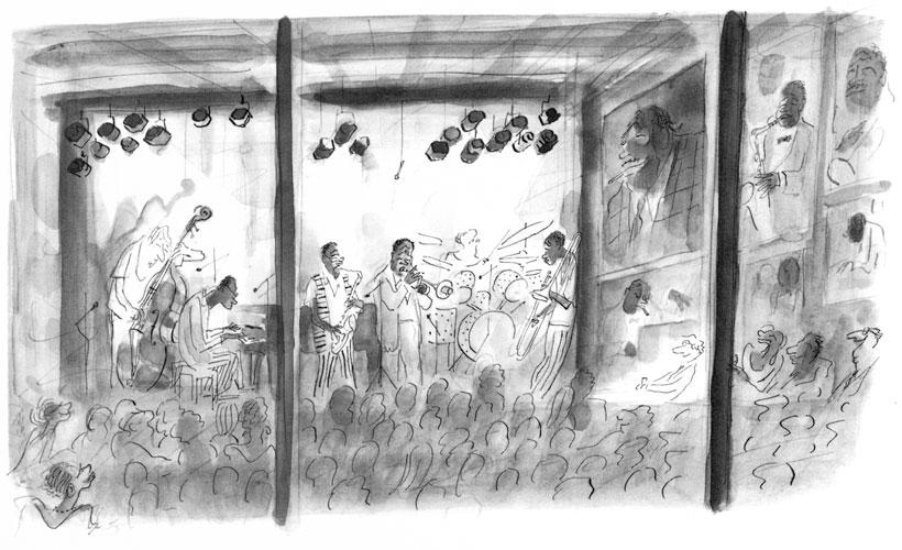 Jean Jacques Sempé - concert-jazz