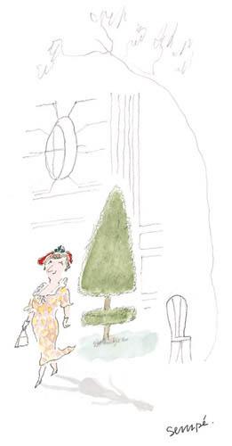 Jean Jacques Sempé - femme-arbre