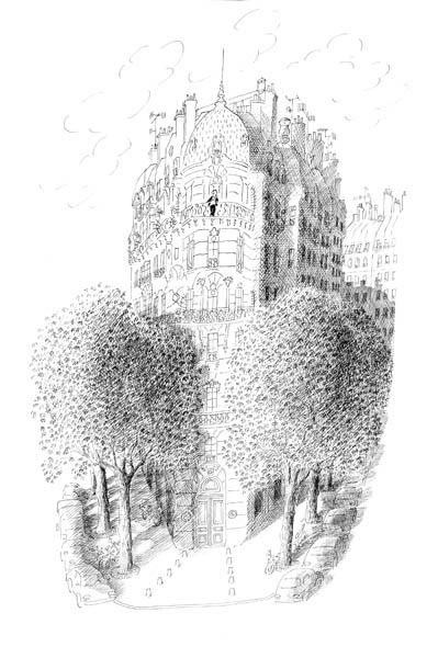 Jean Jacques Sempé - homme-balcon