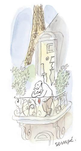 Jean Jacques Sempé - homme-balcon1