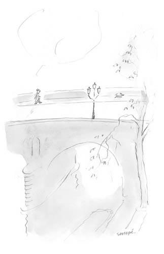 Jean Jacques Sempé - homme-pont