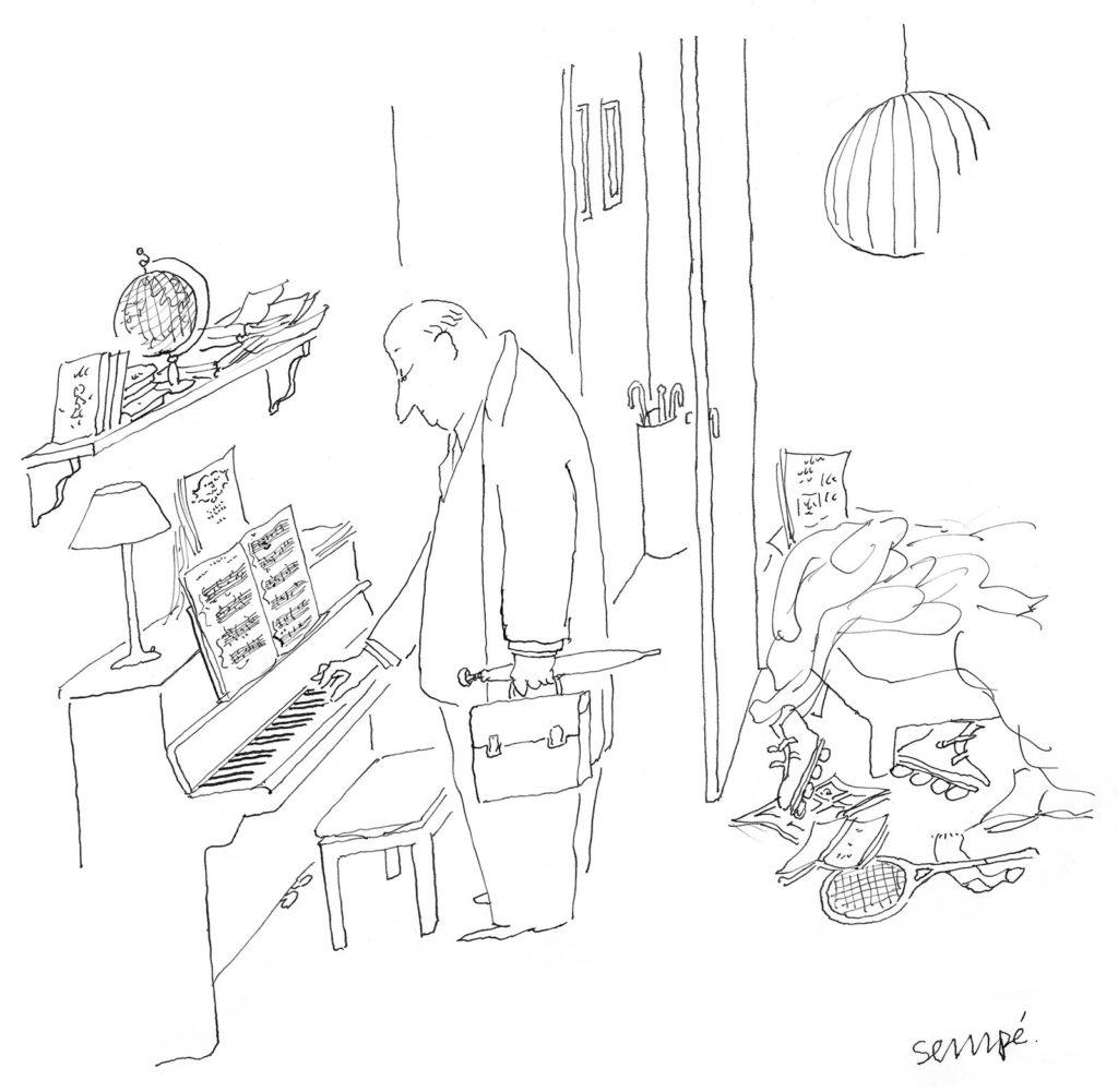 Jean Jacques Sempé - pianotage