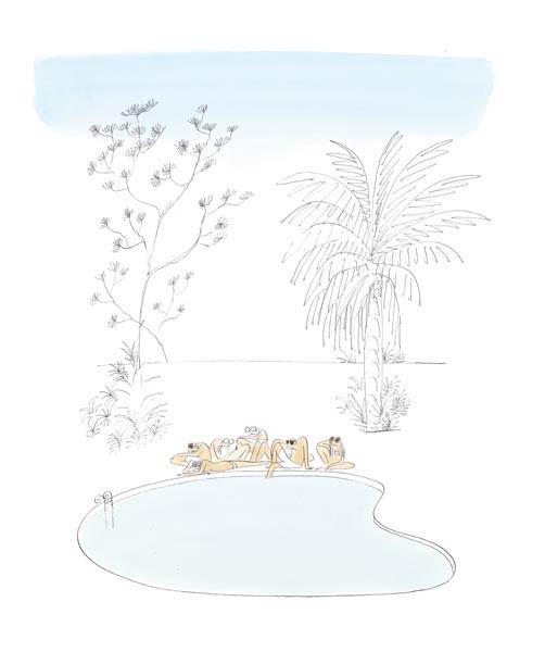 Jean Jacques Sempé - piscine-molle
