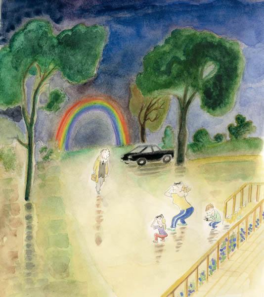 Jean Jacques Sempé - rainbow