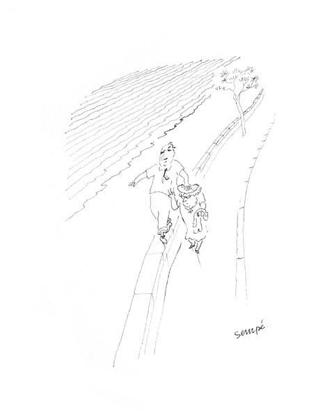 Jean Jacques Sempé - sur-le-mur