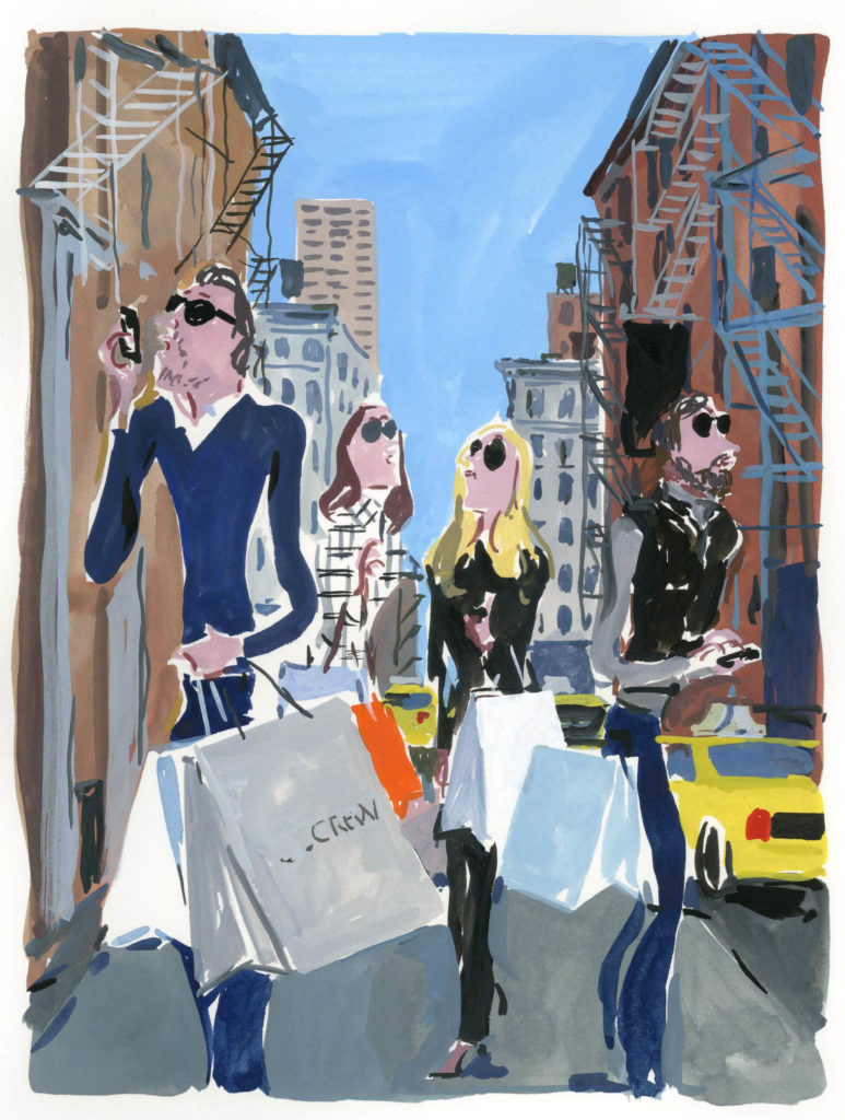 Jean-Philippe Delhomme - 'New York buyers'