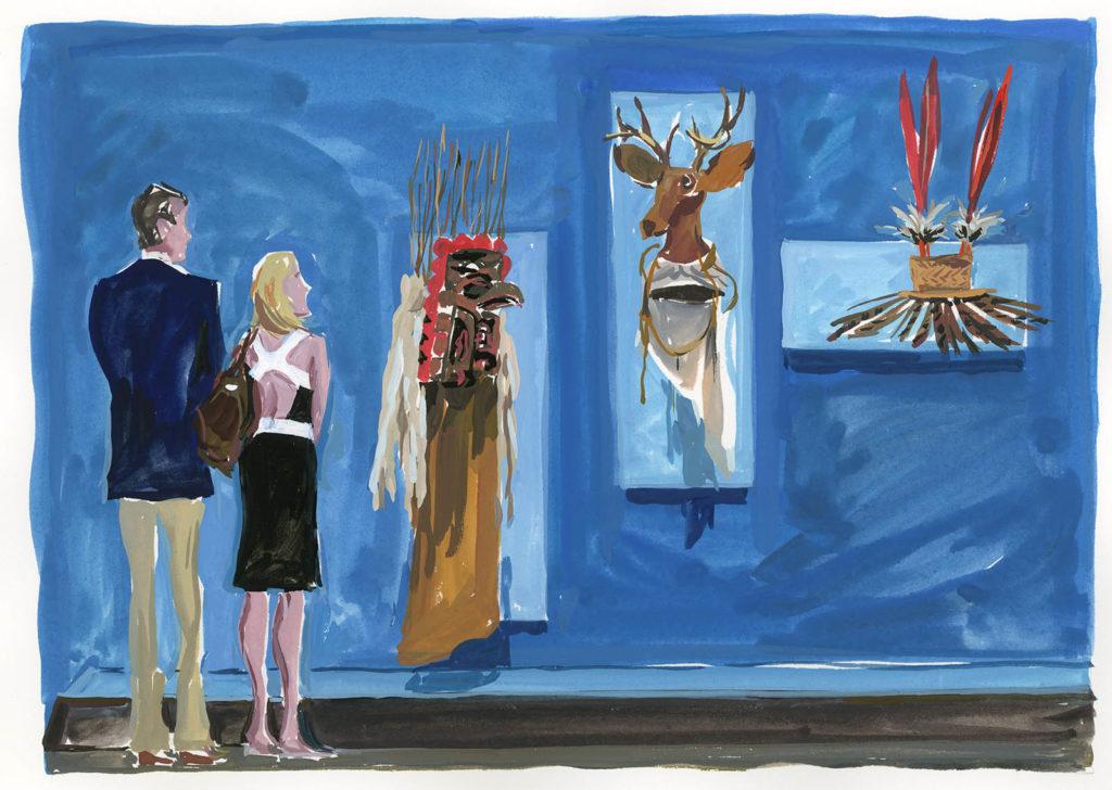 Jean-Philippe Delhomme - Dessins de mode - IndianMuseum