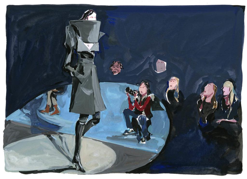 Jean-Philippe Delhomme - Dessins de mode - Margiela