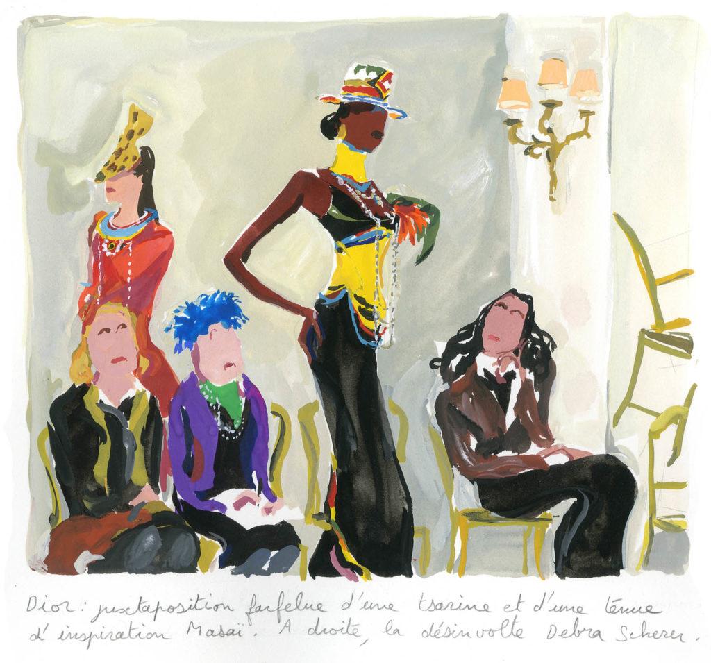 Jean-Philippe Delhomme - Dessins de mode - Vogue.Dior_001