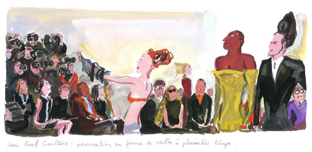 Jean-Philippe Delhomme - Dessins de mode - Vogue.Gautier_002