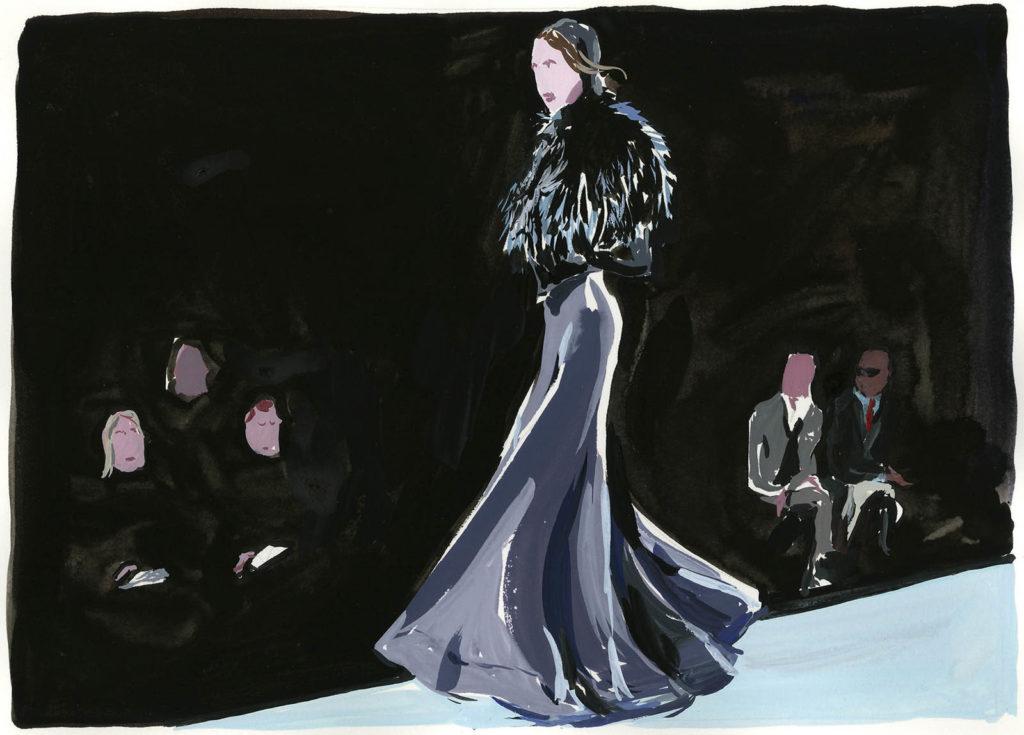 Jean-Philippe Delhomme - Dessins de mode - celine
