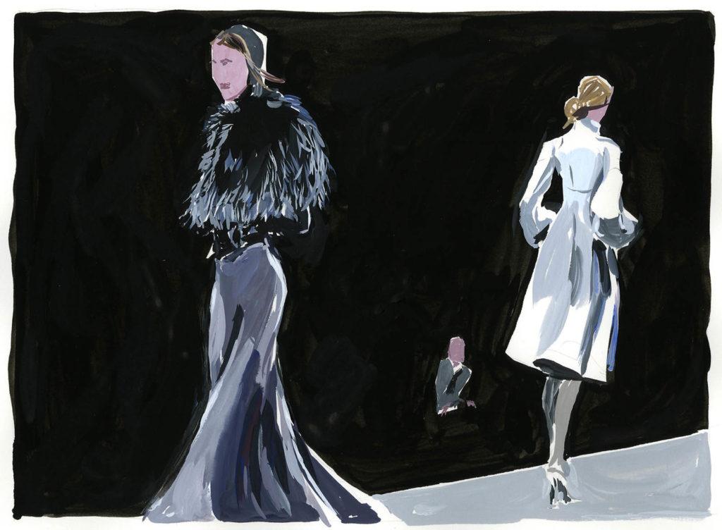 Jean-Philippe Delhomme - Dessins de mode - celine2