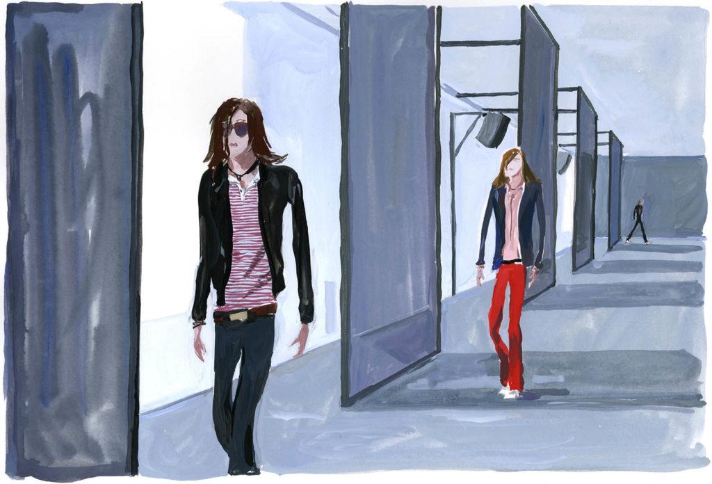 Jean-Philippe Delhomme - Dessins de mode - diorH