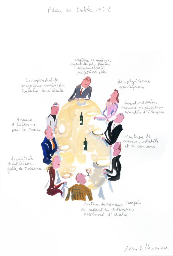 Jean-Philippe Delhomme - Dessins de mode - plandetable_004