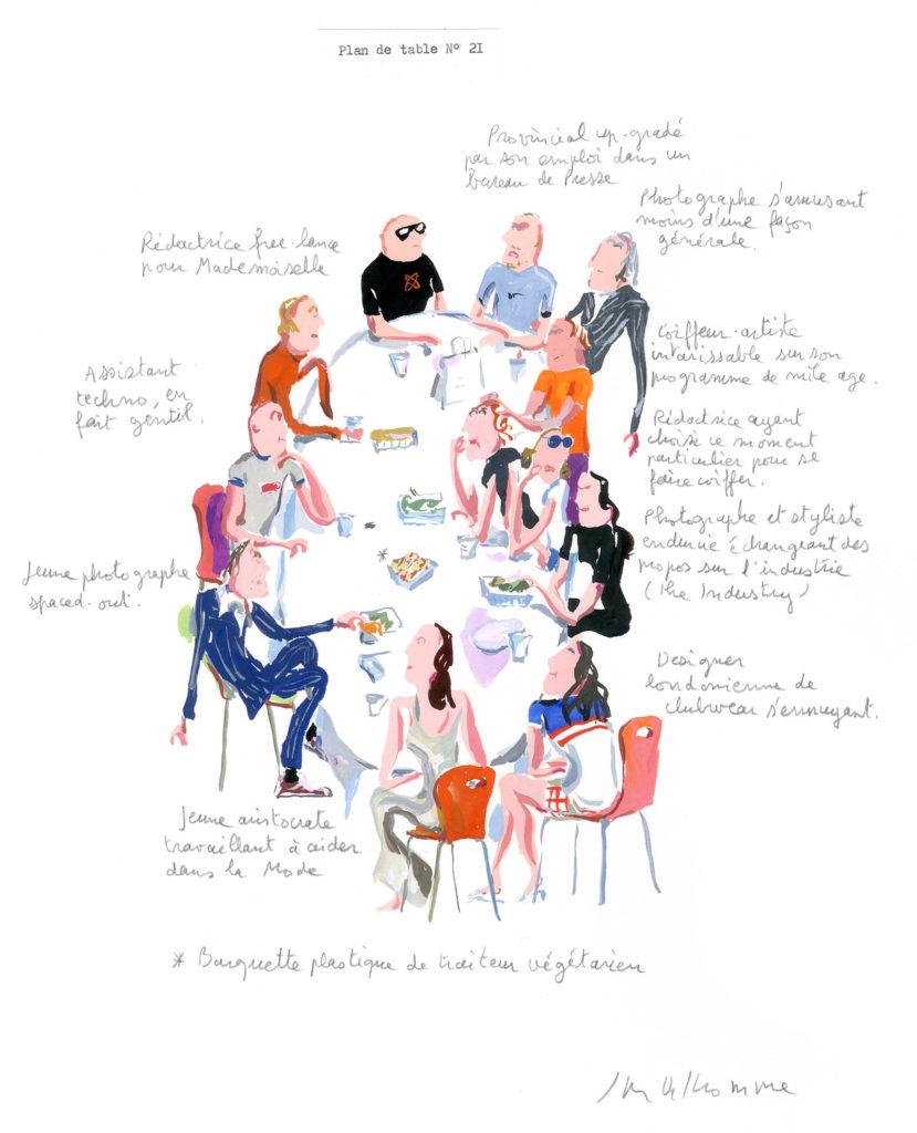 Jean-Philippe Delhomme - Dessins de mode - plandetable_021