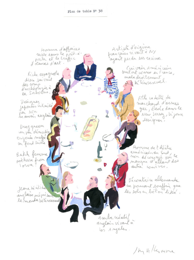 Jean-Philippe Delhomme - Dessins de mode - plandetable_038