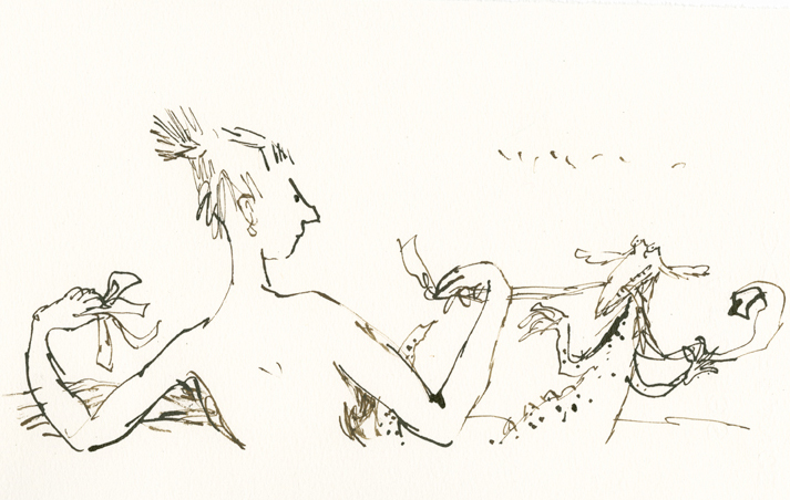 Quentin Blake - Compagnons 09