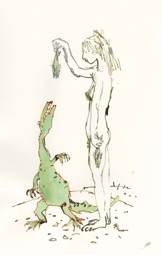 Quentin Blake - Compagnons 16