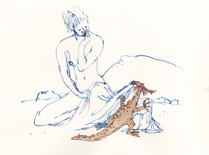 Quentin Blake - Compagnons 18