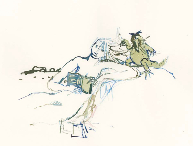 Quentin Blake - Compagnons 26