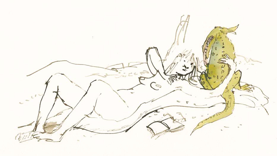 Quentin Blake - Compagnons 32