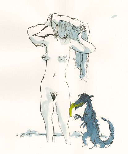 Quentin Blake - Compagnons 38