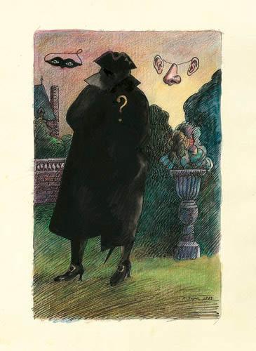 Roland Topor - homme-mystere