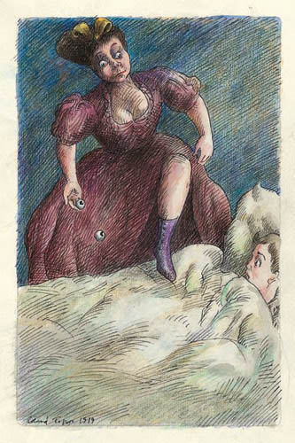 Roland Topor - les-yeux-au-lit