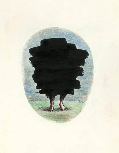 Roland Topor - tache-noire