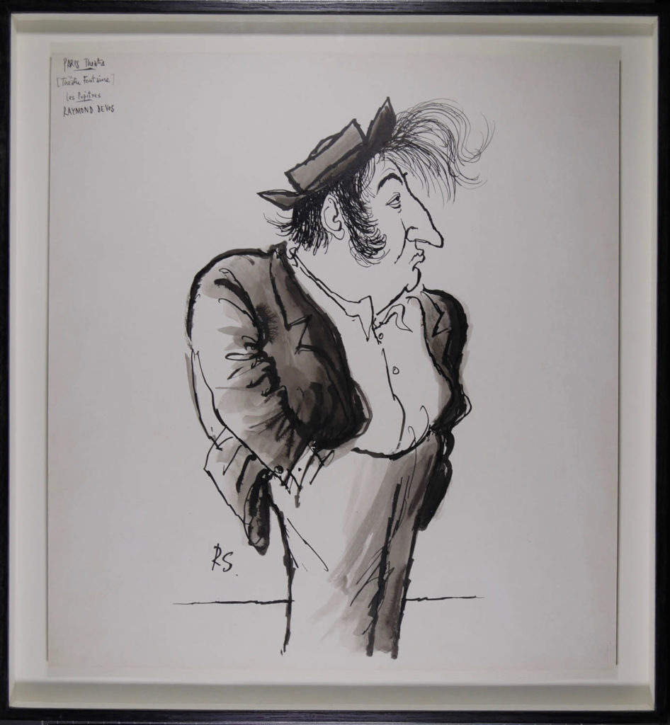 Ronald Searle - Les-pupitres
