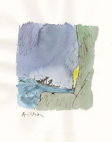 quentin-blake-Candide-canoe